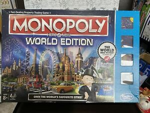 Monopoly: Here and Now World Edition XMAS Family Game