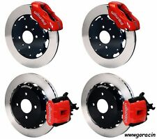"WILWOOD DISC BRAKE KIT 1990-2001 Acura Integra,12"" ROTORS,RED Calipers.Honda"