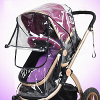 Universal Buggy Baby Pushchair Stroller Rain Cover Dust Shield Wind Shield Gift