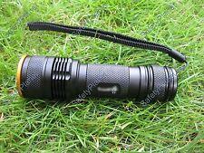 Mastiff Z3 4W 365nm Ultraviolet Blacklight UV Cure LED Zoom Flashlight Torch New