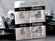 Energizer 321 Silver Oxide Batteries (Sr616Sw), 2-Pk, Free Shipping!