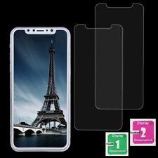 2x iPhone X Schutzglas 9H Echt Glas Panzerfolie Displayschutz Schutzfolie Klar
