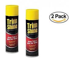 Stoner Trim Shine Aerosol - 12 Ounce (Pack of 2) Car Truck Trim Bumper Engine