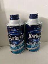 (x2)Barbasol Shaving Cream Pacific Rush 10oz