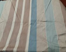 """New listing Vintage Multi Colored Stripes Cotton Broadcloth Fabric 56"""" X 35"""""""