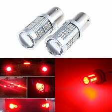 2x 102SMD CanBus Error Free P21W 1156 Stop Light BA15S Tail Reverse Bulb LED Red