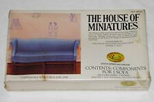 HOUSE Of MINIATURES Doll Furniture CHIPPENDALE SOFA Sealed KIT #40015 Vintage
