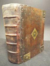 1630 King James Version Bible. 1st Quarto Ed. Printed at Cambridge University