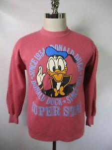 G3321 VTG Disney Daffy Duck Super Star Crew Neck Sweatshirt