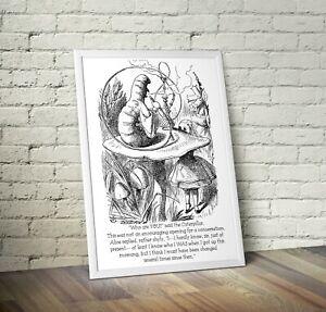 Vintage Alice In Wonderland Art Print 9 - Nursery New Arrival