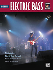 """Beginning Electric Bass"" Instructional Music Book-Brand New On Sale-Guitar!"