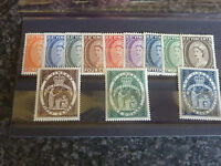 ST VINCENT POSTAGE STAMPS SG 189-200 VERY LIGHTLY MOUNTED MINT