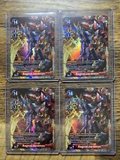 4x Digimon TCG - RagnaLoardmon (Special Booster Ver.1.5) Pack Fresh 2021 BT3-019