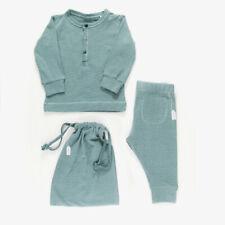 3 Pc Baby Gift Set | Imps & Elfs | 6-9 mo | Dark Green Stripe | Brand New