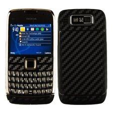 Skinomi Carbon Fiber Black Phone Skin+Screen Protector Cover Film for Nokia E73