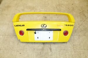 JDM 98-05 Toyota Altezza Lexus IS300 IS200 TRD Wing Spoiler with Trunk SXE10