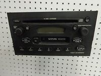 22684454 AM FM Cassette 6 Disc CD Player 03 Saturn VUE Parts Unit