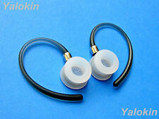 2 Gray (Efp) Earloops and 2 Eartips for Motorola H17, Elite Flip and Hx600 Boom