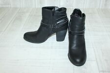 Madden Girl Denice Ankle Boots-Women's size 8.5 M Black