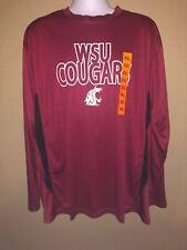 Wsu Cougars Champion Long Sleeve 2xl New With Tags