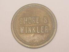 (Ironton, OH) Maverick Trade Token - Shore & Winkler (Saloon 1914)