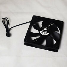 2 Stück Corsair A1225M12S 120mm 3-Pin 1200RPM schwarz PC Case Cooling Fan OEM