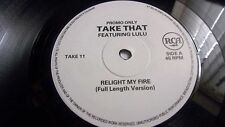TAKE THAT ft  LULU RELIGHT MY FIRE RCA TAKE11/12  2 PROMOS THE JOEY NEGRO MIXES