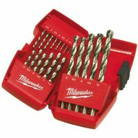 Milwaukee 4932352374 Thunderweb 19 Piece HSS-G Ground Metal Drill Bit Set