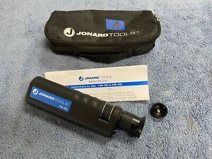(LotA) Jonard Tools FIM-400 Fiber Optic Inspection Microscope w/ Pouch