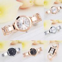 Womens Fashion Watch Bracelet Crystal Thin Band Dress Analog Quartz Wrist Watch