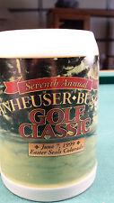Anheuser Busch BUDWEISER Stein 1999 7th Easter Seals  Golf Classic  Fort Collins