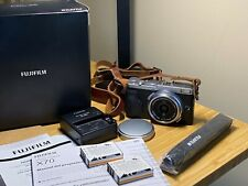 Fujifilm X70 Silver 16.3MP Compact Mirrorless Digital Photo Video Camera Fuji