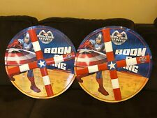 Captain America Boom-a-Ring *Marvel Universe LIVE* Arena Show 2014 Stan Lee Tour