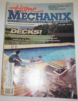 Home Mechanix Magazine Cool Decks And Deck Tables July 1988 101414R