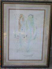 Gravure eau forte et aquatinte signée au crayon par Dali Salvador tirage 181/250