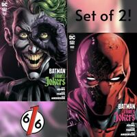 🦇🚨🤡 BATMAN THREE JOKERS #3 SET OF 2 Cvr A Joker + B Red Hood Jason Fabok NM
