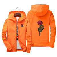 Men Windbreaker Jacket Outdoor Sport Running Coat Sweatshirt Lovers Clothing