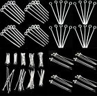 Wholesale Silver Plated Ball Head Eye Pins Jewelry Findings 15/20//25/30/40/50mm