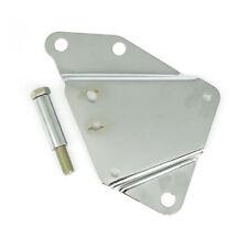 Paughco Werkzeugbox Halter links, Chrom, für Harley-Davidson Softail 84-99