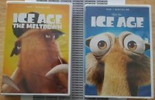 *Brand New In Factory Sealed* Ice Age & Ice Age 2:The Meltdown Dvd Free Shipping