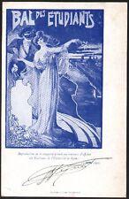 Sauvage. Lyon. Bal des étudiants. 1902