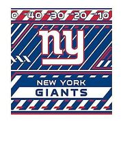 """New York Giants Stretchable & Washable Book Cover - Fits books up to 8"""" x 10"""""""