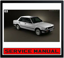 BMW 3 Series E30 1984-1990 SERVICE REPAIR MANUAL IN DVD