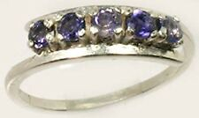 Five 19thC Antique Iolite Ancient Viking Navigation Aid Sterling Ring