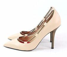 Charles Jourdan Paris Womens Oke Pump Pointed Toe Heel Bone Size 8.5