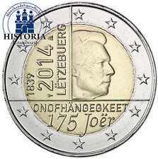 Bi-Metall Münzen aus Luxemburg