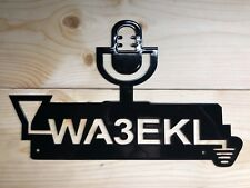 Amateur Radio/Short Wave Radio Customized Sign With Your Call Sign