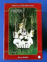 CARLTON CARDS Merry Mobiles (Third In Series) CHRISTMAS ORNAMENT ~ NEW