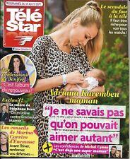 TELE STAR n°2189 15/09/2018  Adriana Karembeu/ Jenifer/ Julien Courbet/ S.Bern