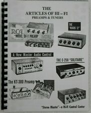 *Usa* The Articles of Hi-Fi Preamps and Tuners
